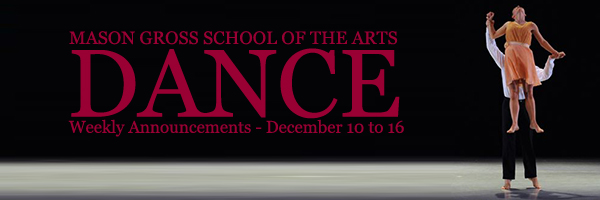 Weekly Announcements - December 10 to 16