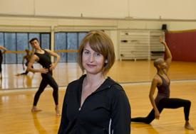 Julie Ritter, chair and artistic director dance MGSA