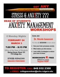 DOS STRESS Workshops Feb24 Mar3 2014