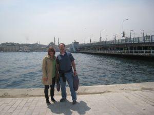 Julia and Jeff Istanbul