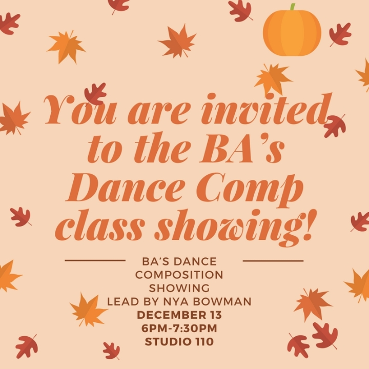BA_s Dance Comp class showing