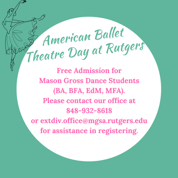 American Ballet Theatre Day at Rutgers