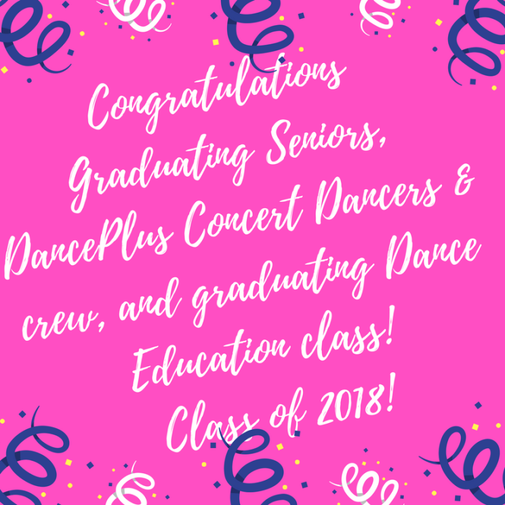 CongratulationsClass of 2018!