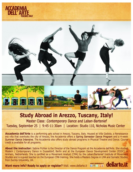 Accademia dellArte Flyer