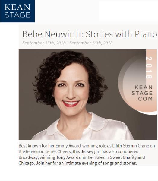Kean Stage - Babe Neuwirth 091518