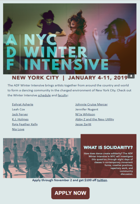 ADF Winter Intensive