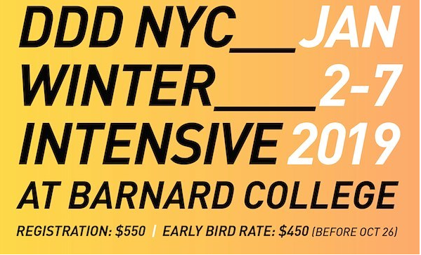 DDD NYC Winter Intensive