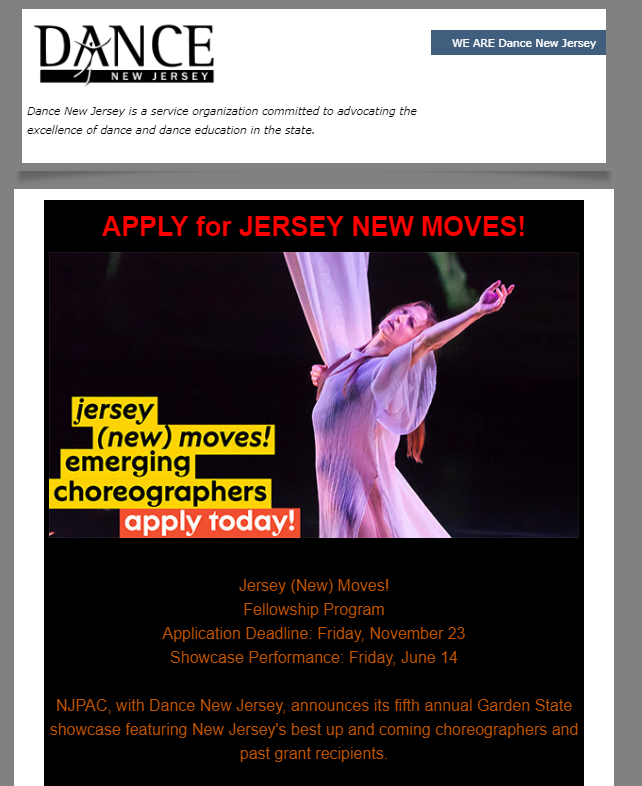 Jersey New Moves