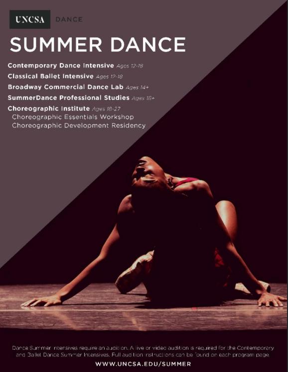 uncsa summer dance 2019