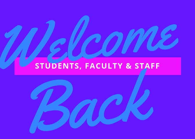 welcome back - spring 2019