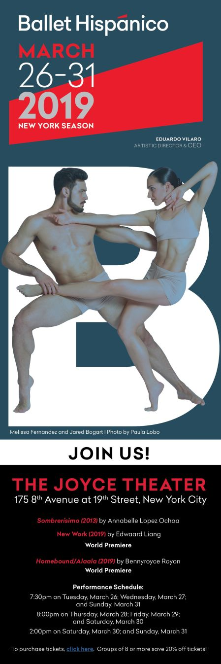 Ballet Hispanico at the JOYCE