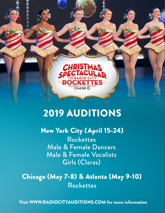 Radio City Auditions
