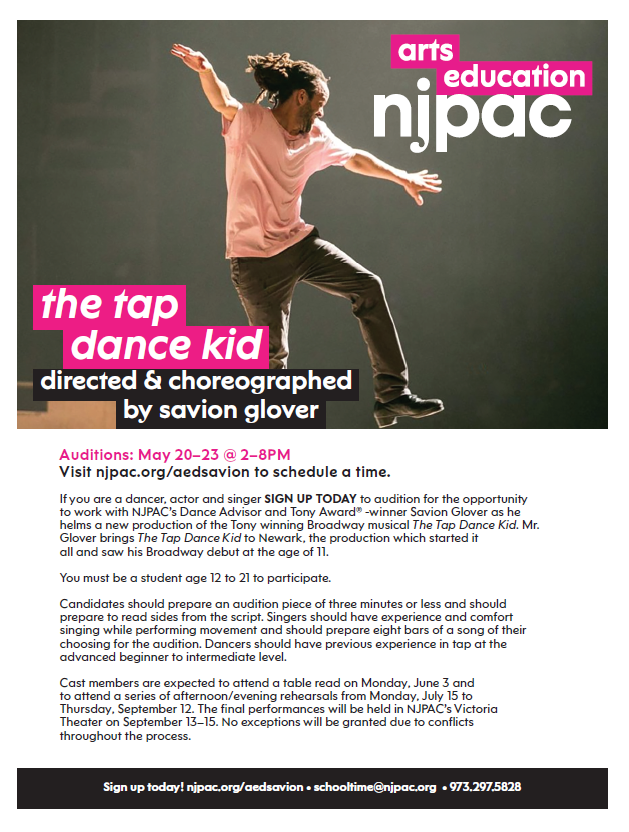 the tap dance kid flyer