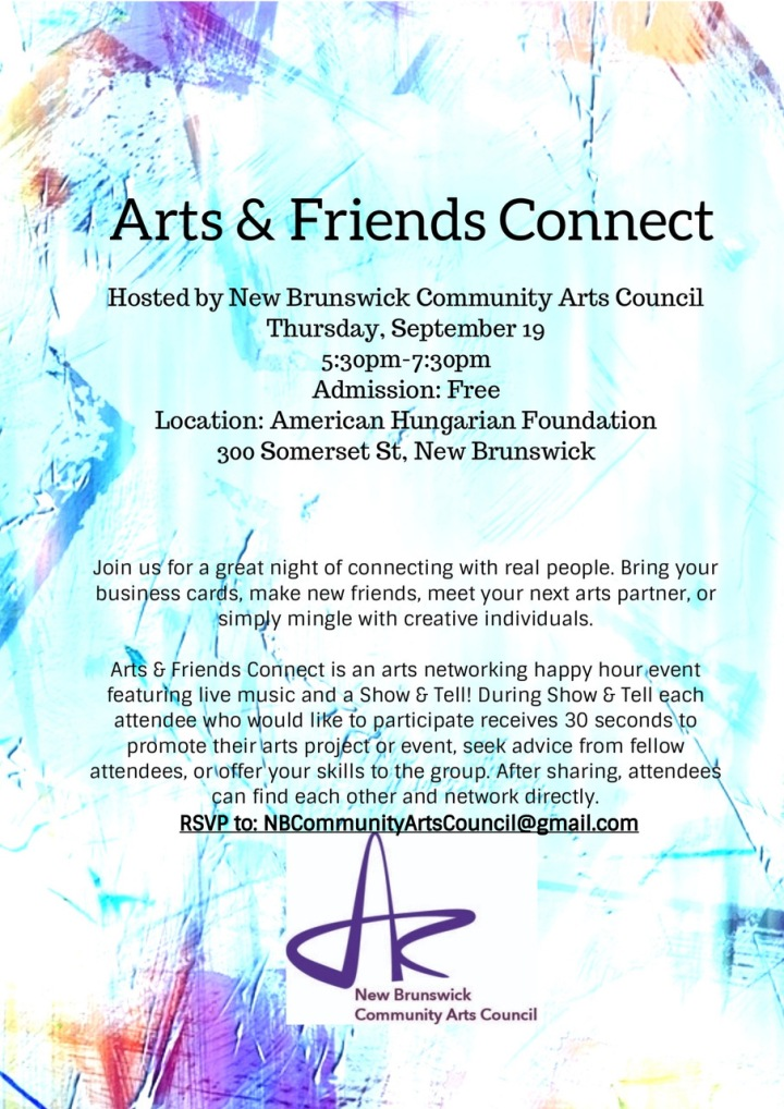 FINAL Arts and Connect flyer