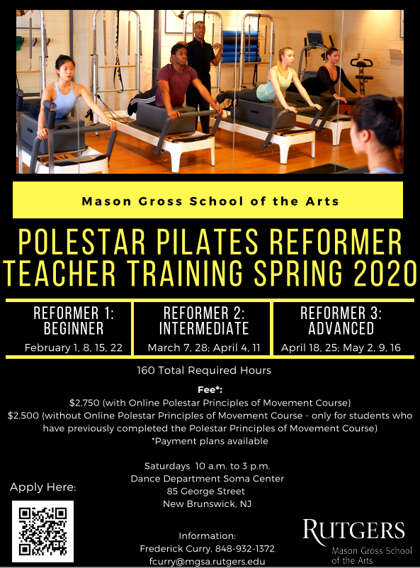 Polestar Pilates Flyer for 2020 Flyer